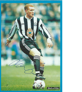Steve Watson Newcastle Postcard (Signed)