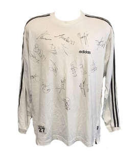 Steven Taylor Newcastle United Training Top (Signed)