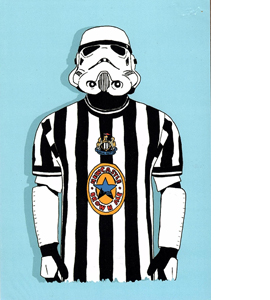 Stormtrooper Newcastle (Greetings Card)