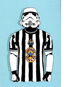 Stormtrooper Newcastle (Greetings Card)