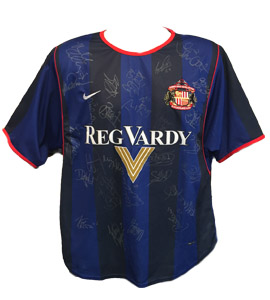 Sunderland 2001/02 Away Shirt (Signed)