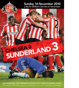 Sunderland 3 Chelsea 0 14 November 2010 (DVD)