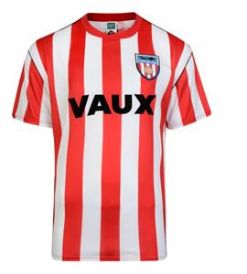 Sunderland AFC 1990 Official Retro Home Shirt
