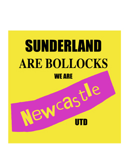 Sunderland Are Bollocks (Greetings Card)