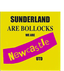 Sunderland Are Boll**cks We Are NUFC (Ceramic Coaster)