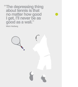 Tennis (Greetings Card)