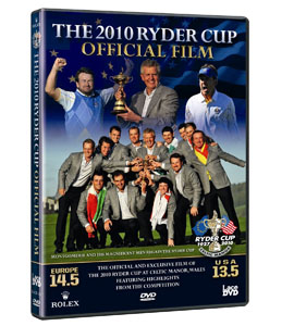 The 2010 Ryder Cup: Official Film (DVD)
