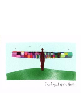 The Angel of the North (Greetings Card)