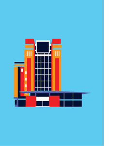 The Baltic, Gateshead, Pop Art (Greeting Card)