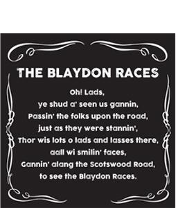 The Blaydon Races (Greeting Card)