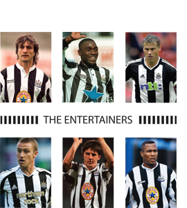 The Entertainers Newcastle United (Greeting Card)