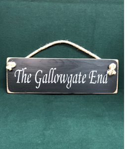 The Gallowgate End Newcastle United (Wooden Sign)