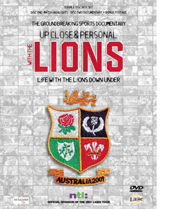 The Lions - Up Close And Personal (DVD)