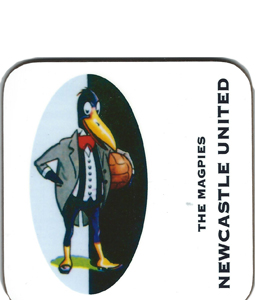 The Magpies Newcastle United 1930's Retro (Coaster)