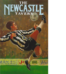 The Newcastle Tavern Inn Signs (Postcard)