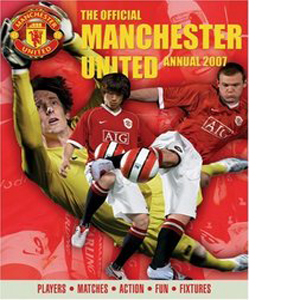 The Official Manchester United Annual : Players - Matches - Acti