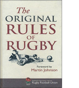 The Original Rules of Rugby (HB)