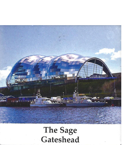 The Sage Gateshead (Ceramic Coaster)