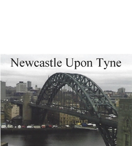 The Tyne Bridge Newcastle Upon Tyne (Postcard)
