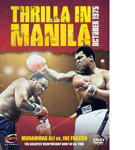 Thrilla In Manila, Ali v Frasier (DVD)