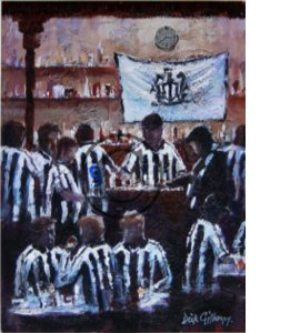 'Time We Went' Newcastle United by Dick Gilhespy (Print)
