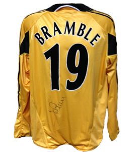 Titus Bramble Newcastle United Shirt 2004/05 Europe (Match-Worn)