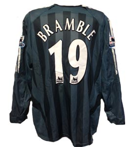 Titus Bramble Newcastle United Shirt 2005/06  (Match-Worn)