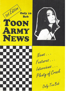 Toon Army News Newcastle United Issue 1 (Fanzine)