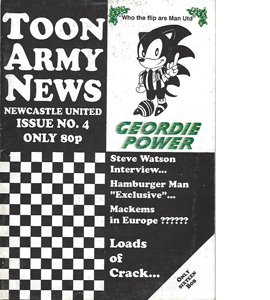 Toon Army News Newcastle United Issue 4 (Fanzine)