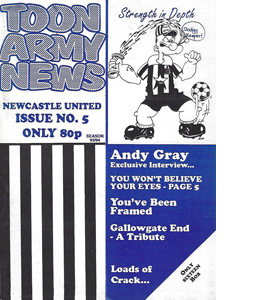 Toon Army News Newcastle United Issue 5 (Fanzine)