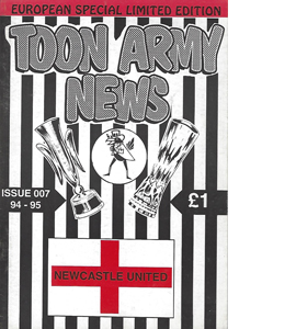 Toon Army News Newcastle United Issue 7 (Fanzine)