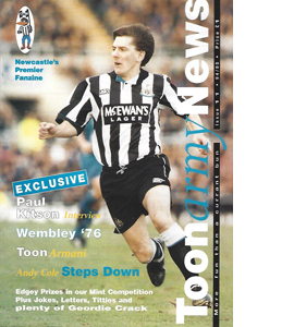 Toon Army News Newcastle United Issue 11 (Fanzine)