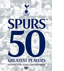 Tottenham Hotspur Spurs 50 GREATEST PLAYERS (DVD)