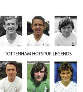 Tottenham Hotspur Legends (Greetings Card)