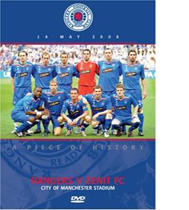 UEFA Cup Final: 2008 - Rangers v Zenit FC (DVD)