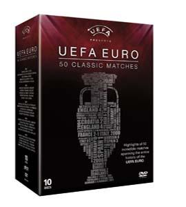 UEFA EURO 50 Classic Matches (DVD)