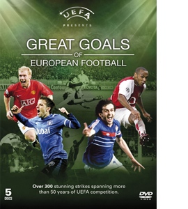 UEFA - Great Goals of European Football (DVD)