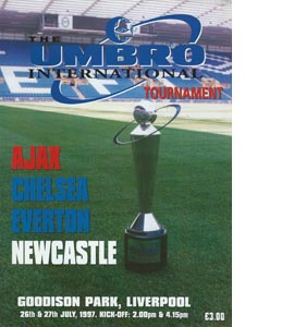 Umbro International Tournament Goodison Park 1997/98 (Programme)