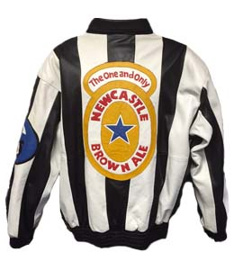 Unique Newcastle United Leather Jacket