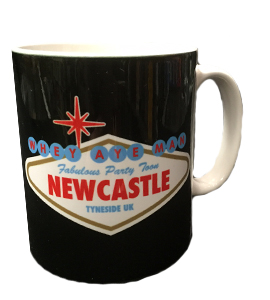 Viva Newcastle Party Toon (Mug)