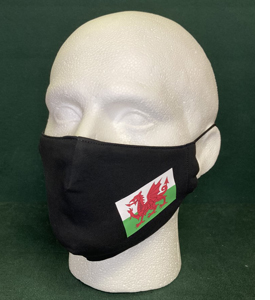 Wales Red Dragon Flag (Face Mask)