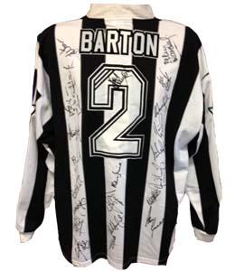 Warren Barton Newcastle United Home Shirt 1996/97 (Match-Worn)