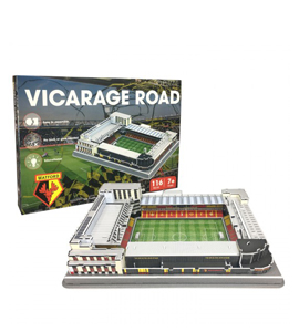 Watford FC 3D Vicarage Road Football Stadium Puzzle