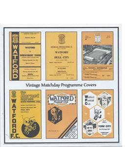 Watford Vintage Programme (Greeting Card)