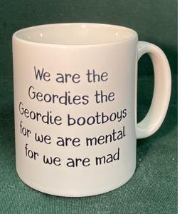 We Are The Geordies The Geordie Bootboys (Mug)