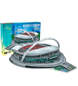 Wembley 3D Football Stadium Puzzle