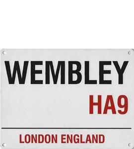 Wembley HA9 (Metal Sign)