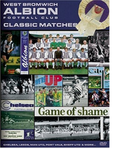 West Bromwich Albion Classic Matches (DVD)