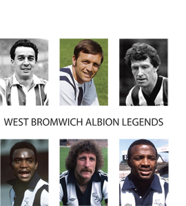 West Bromwich Albion (Greetings Card)