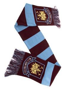 West Ham United F.C. Bar Scarf